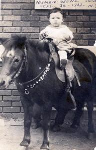 Dad with Pony